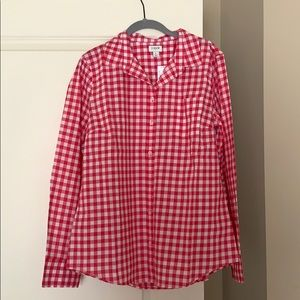J. Crew Gingham Button Down